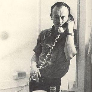 Frank O'Hara 1965 by Mario Schifano