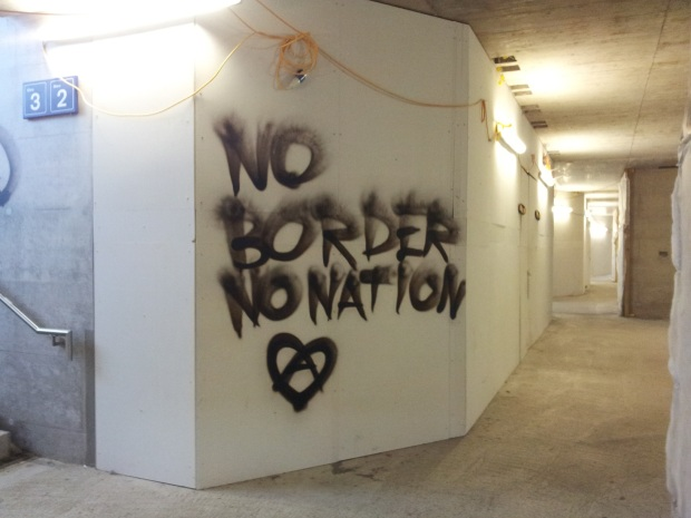 No Borders. Photo: Claire Doble