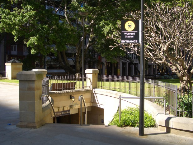 Wynyard Station Entrance. Photo: J Bar