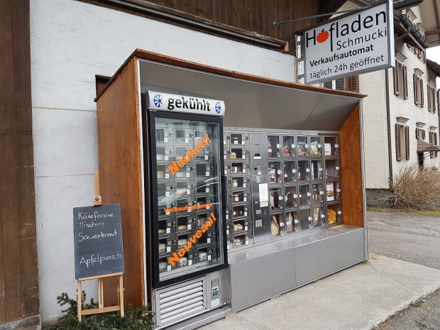 Farm vending machine at St Gallenkapel