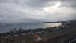 Lake Neuchatel from the train